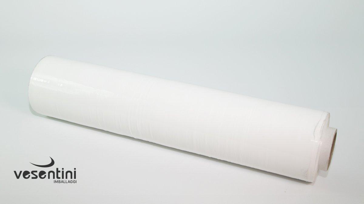 Film estensibile manuale colorato bianco