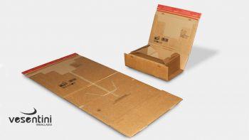 Scatole cartone modulabili per spedizioni