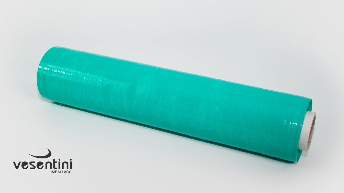 Film estensibile manuale colorato verde